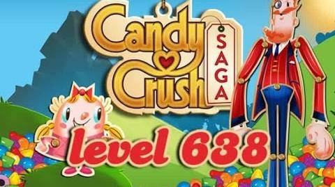 Candy Crush Saga Level 638 - ★★