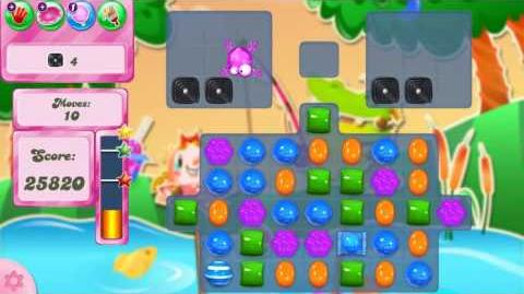 Candy Crush Saga LEVEL 2410 NO BOOSTERS (14 moves)