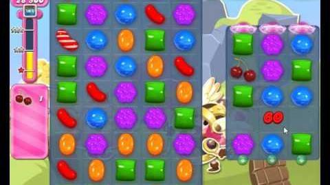 Candy Crush Saga Level 1661 Hard Level NO BOOSTER (2nd Version)