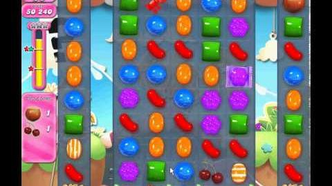 Candy Crush Saga level 726 (3 star, No boosters)