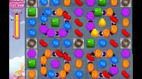 Candy Crush Saga level 878 (3 star, No boosters)