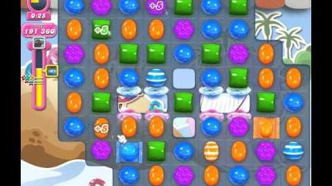 Candy Crush Saga Level 1632 ( New with 120,000 Points ) ( 3 stars ) No Boosters