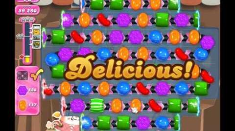 Candy Crush Saga Level 1855 ( New with 27 Moves ) No Boosters 1 Star