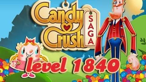 Candy Crush Saga Level 1840
