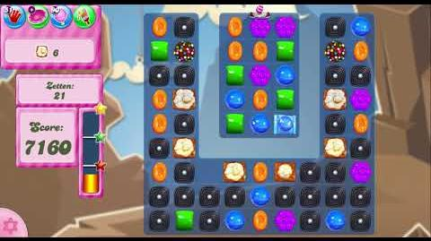 Candy Crush Saga Level 2707 - No boosters