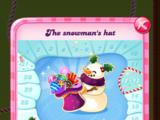 The snowman's hat