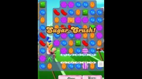 Candy Crush Level 1445 18 moves