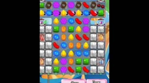 Candy Crush Level 1610 New (with 6 candy colors)
