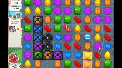 Candy Crush Saga Level 195 - 2 Star