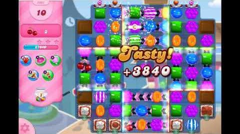 Candy Crush Saga - Level 2961 ☆☆☆