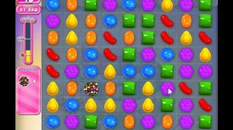 Candy Crush Saga Level 202 - 1 Star - no boosters
