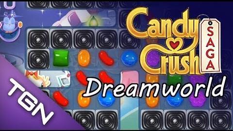Candy Crush Saga Dreamworld - level 84