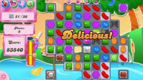 Candy Crush Saga LEVEL 2417 NO BOOSTERS (15 moves)