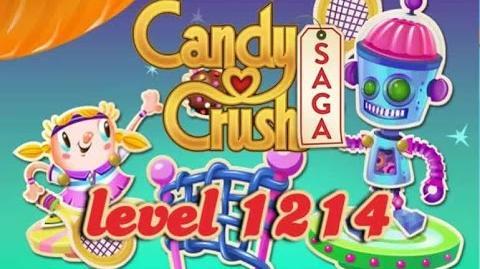 Candy Crush Saga Level 1214 - ★★★