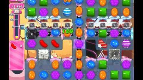 Candy Crush Saga Level 1843 ( New with 16 Moves ) No Boosters 1 Star
