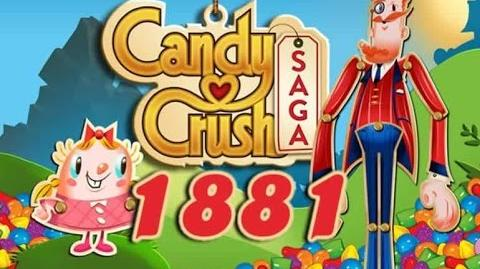 Candy Crush Saga Level 1881