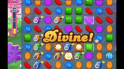 Candy Crush Saga Level 1947 ( New with 18 Moves and 2M Points ) No Boosters 2 Stars