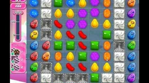 Candy Crush Saga Level 257 - 1 Star
