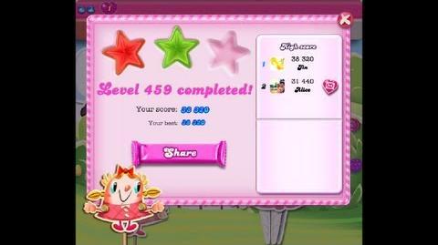 Candy Crush Saga Level 459 ★★ NO BOOSTER