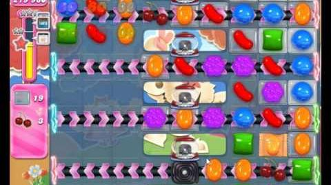 Candy Crush Saga Level 1698 Hard Level NO BOOSTER (2nd Version)