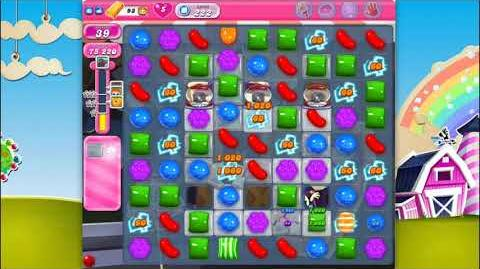 Candy Crush Saga - Level 222 - No boosters ☆☆☆