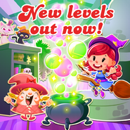 New levels released 75