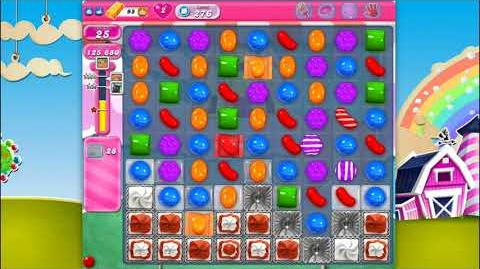 Candy Crush Saga - Level 276 - No boosters ☆☆☆ Top Score