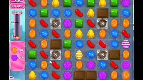 Candy Crush Saga Level 319 - 1 Star - no boosters