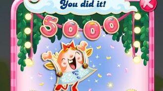 Candy Crush Saga Level 5000 NO BOOSTERS
