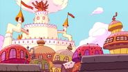 Adventure time candy castle by fullerenedream-d4dvy43