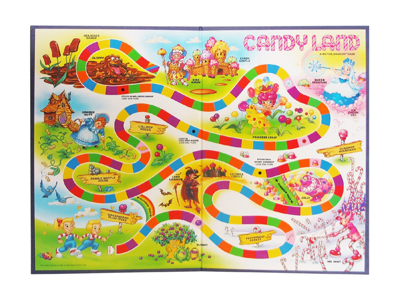 Image Candyland Game Boardg Candy Land Wiki Fandom Powered