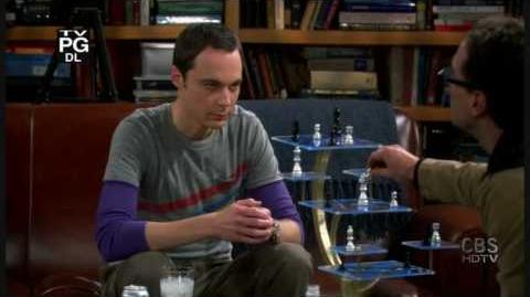 The Big Bang Theory-Leonard sucking in different levels HD