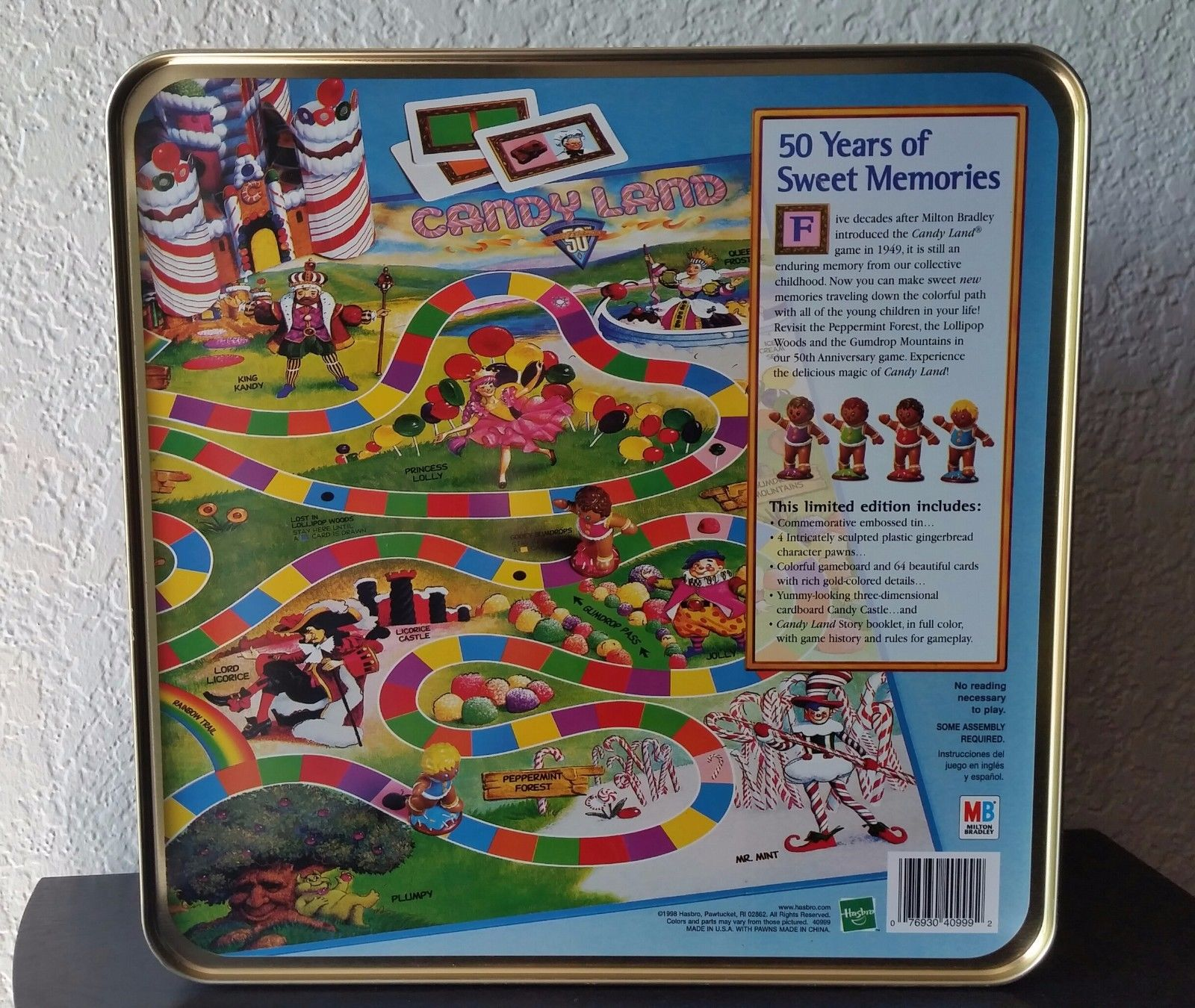 candyland 50th anniversary collector\\\\\\\\\\\\\\\\\\\\\\\\\\\\\\\'s tin