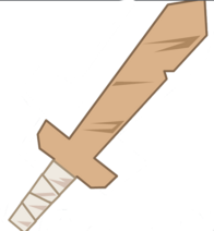 2 Handed Cardboard Sword