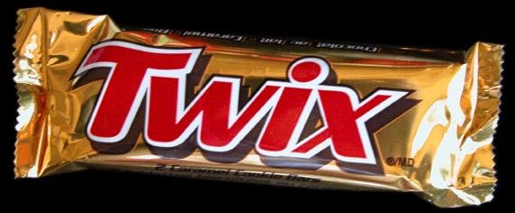 White Twix Chocolate Bar