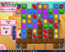 Candy Crush Saga Уровень 165