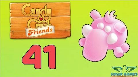 Candy Crush Friends Saga Level 41 (Mammoth mode) - 3 Stars Walkthrough, No Boosters