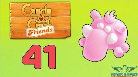 Candy Crush Friends Saga Level 41 (Mammoth mode) - 3 Stars Walkthrough, No Boosters