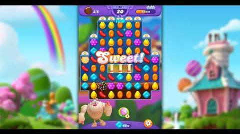 Candy Crush Friends - Level 22 ☆☆☆ Yeti