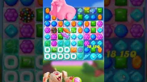 Candy Crush FRIENDS Saga level 11 no boosters
