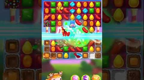 Candy Crush Friends Saga Level 100 Tiffi
