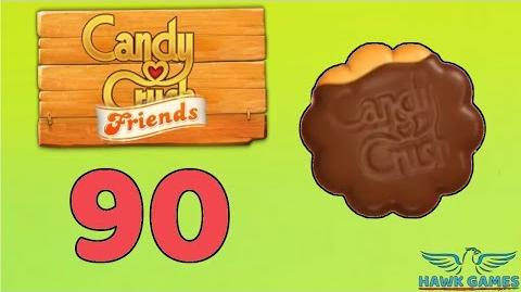 Candy Crush Friends Saga Level 90 (Cookie mode) - 3 Stars Walkthrough, No Boosters