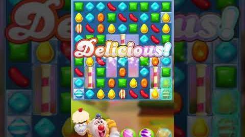 Candy Crush Friends Saga Level 1017