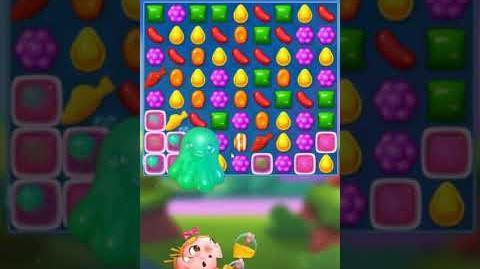 Candy Crush FRIENDS Saga level 8 no boosters