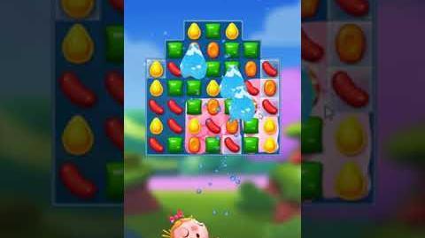 Candy Crush FRIENDS Saga level 9 no boosters