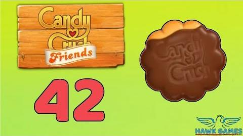Candy Crush Friends Saga Level 42 (Cookie mode) - 3 Stars Walkthrough, No Boosters