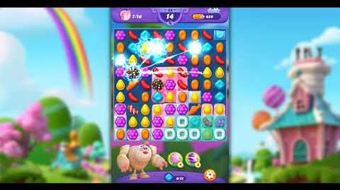 Candy Crush Friends - Level 28 ☆☆☆ Yeti