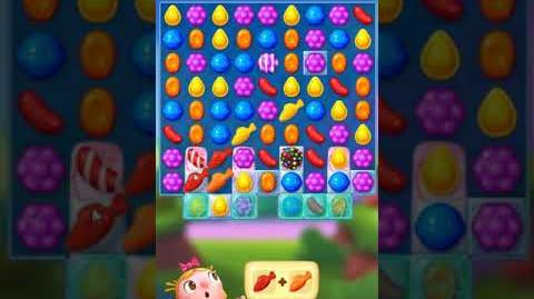 Candy Crush FRIENDS Saga level 10 no boosters