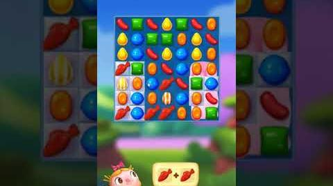 Candy Crush FRIENDS Saga level 4 no boosters