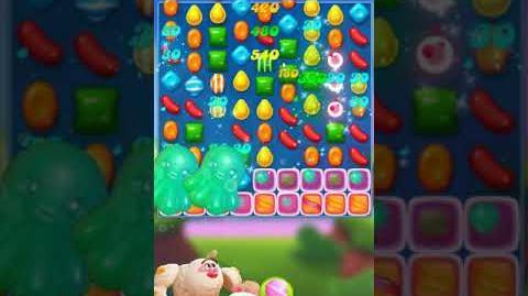 Candy Crush FRIENDS Saga level 14 no boosters